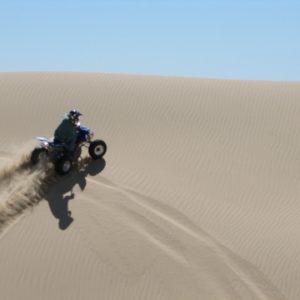 ATV Puerto Penasco - Quad over dune